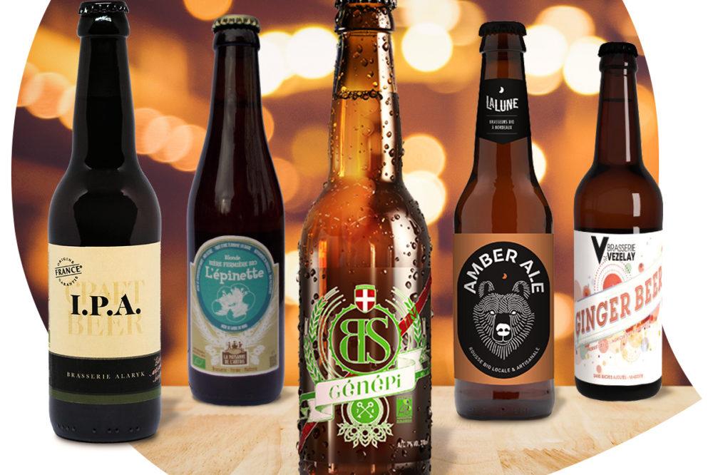 Bières artisanales Biocoop
