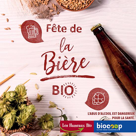 Affiche fête de la bière biocoop
