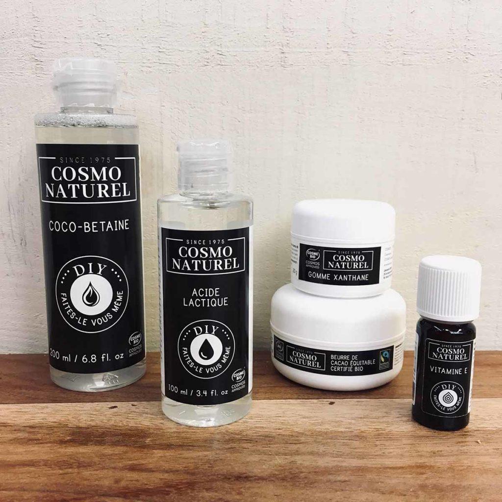 cosmétique bio maison