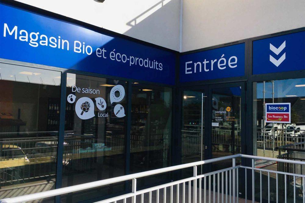 Façade magasin Les Hameaux Bio La Baule web
