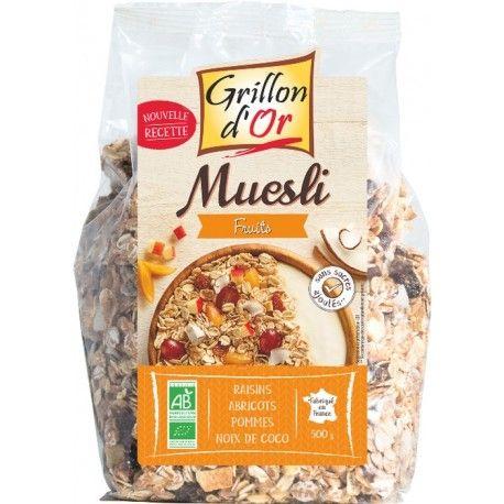 Muesli Grillon D'or