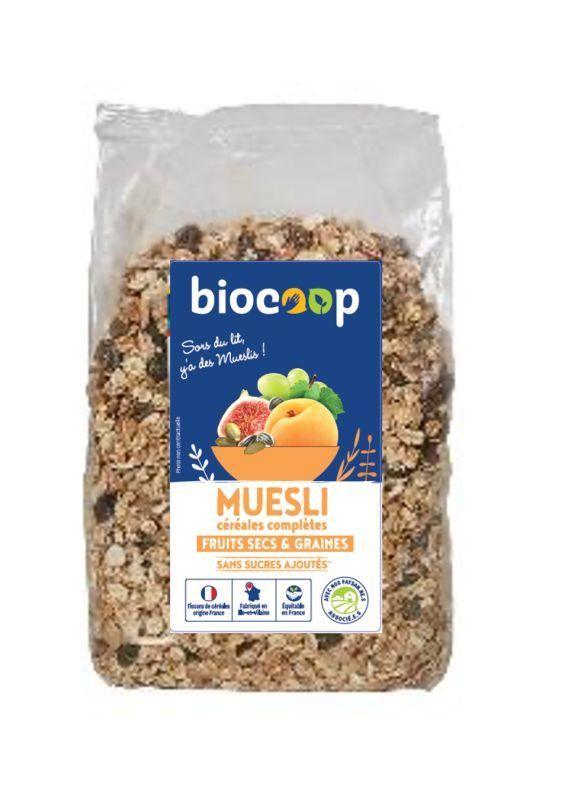 Muesli aux fruits Biocoop