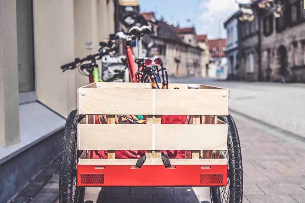 vélo triporteur bio