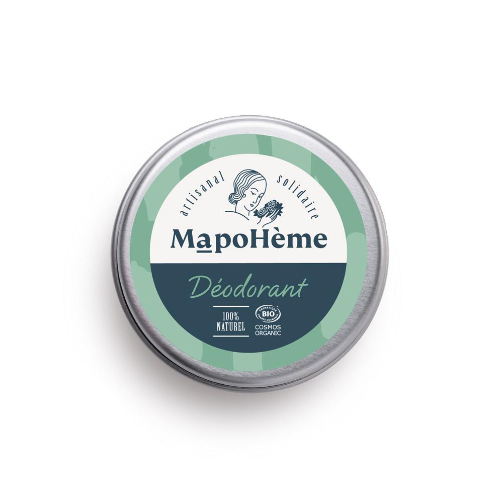 Déodorant bio MapoHème