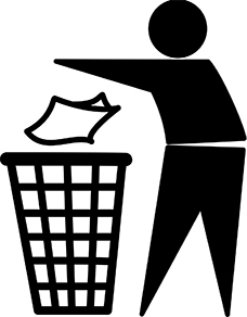 Pictogramme recyclage tidyman